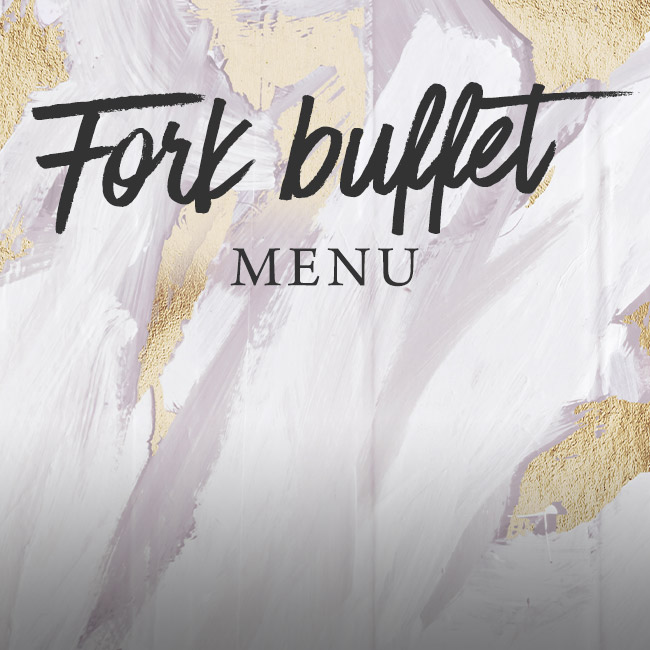 Fork buffet menu at The King William IV