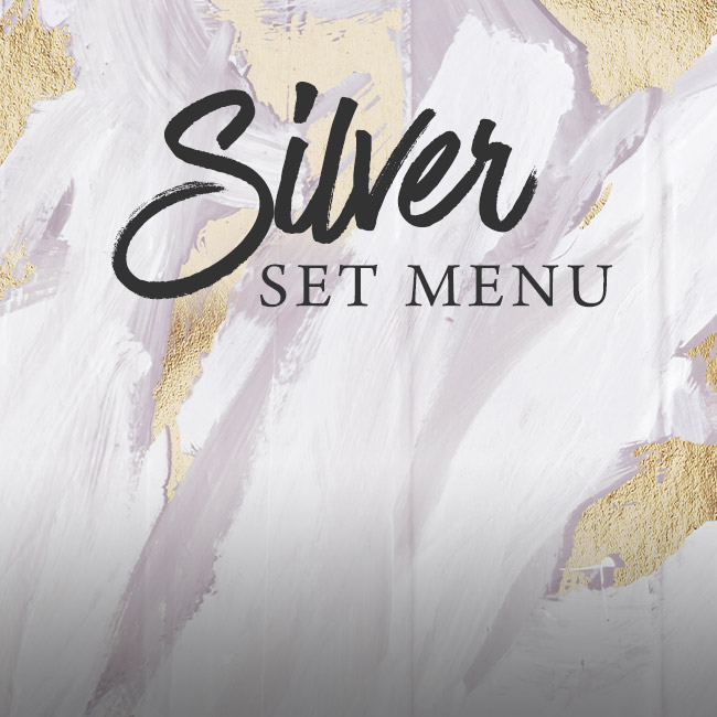Silver set menu at The King William IV