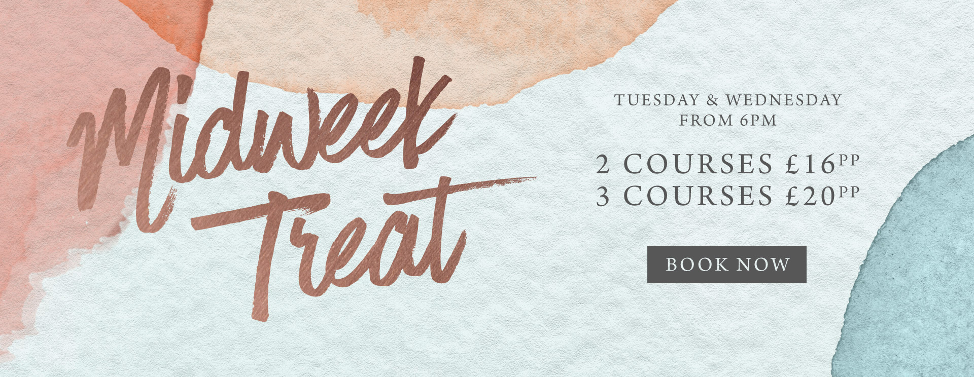 Midweek treat at The King William IV - Book now